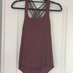 Maroon Free to Be Wild tank top